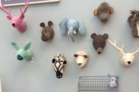 Aan De Muur : Stoere dierenkoppen voor aan de muur villa uk