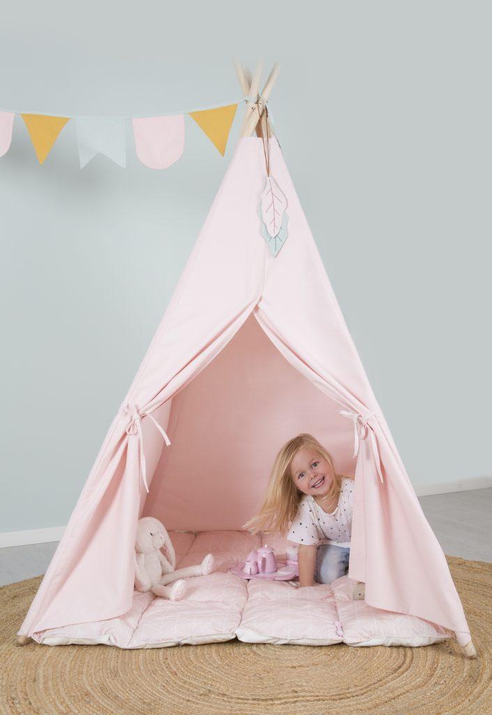 Tipi tent little dutch pink - Villa Uk