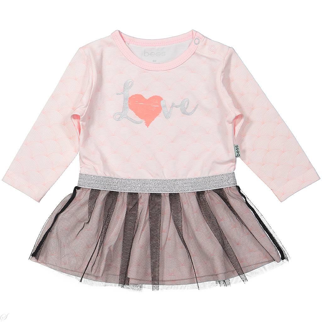 Babykleding Jurkje.Bess Jurkje Love Pink Bess Babykleding Villa Uk