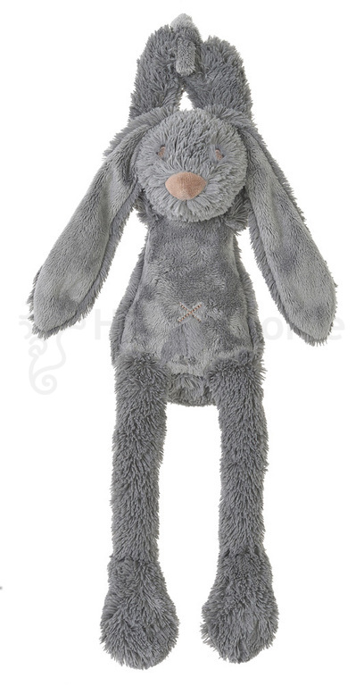 Deep grey rabbit richie muziekdoosje Happy Horse
